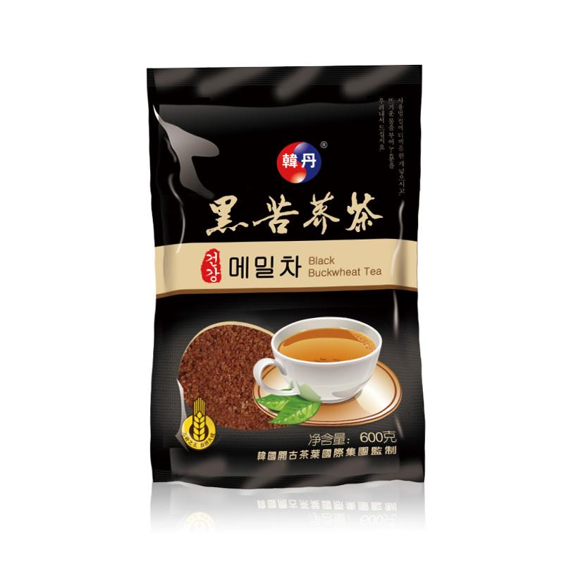 韩丹黑苦荞茶600克-散装