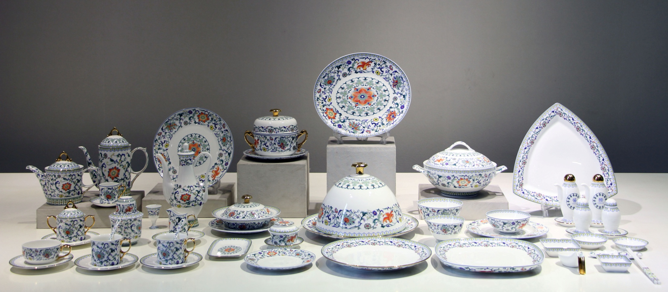 陶瓷餐具 APEC首脑用瓷