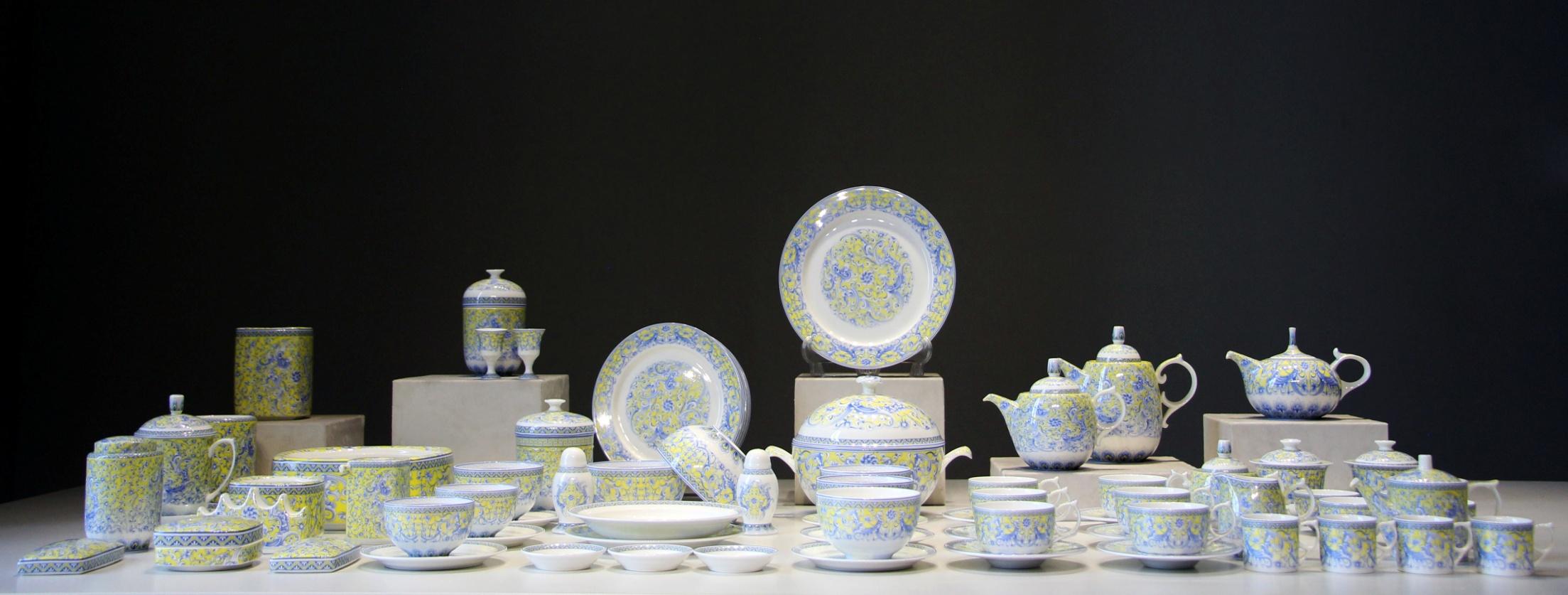 陶瓷餐具 中南海定制凤舞和鸣