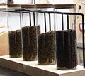 咖啡茶叶玻璃罐展示架