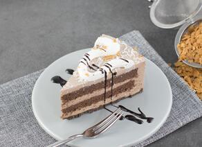 雪顶萨布雷慕斯蛋糕