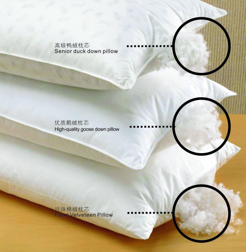 酒店床品-枕芯系列