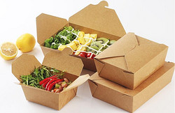 一次性牛皮纸餐盒