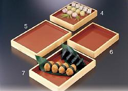 松花堂糕点盒 保鲜盒 托盘