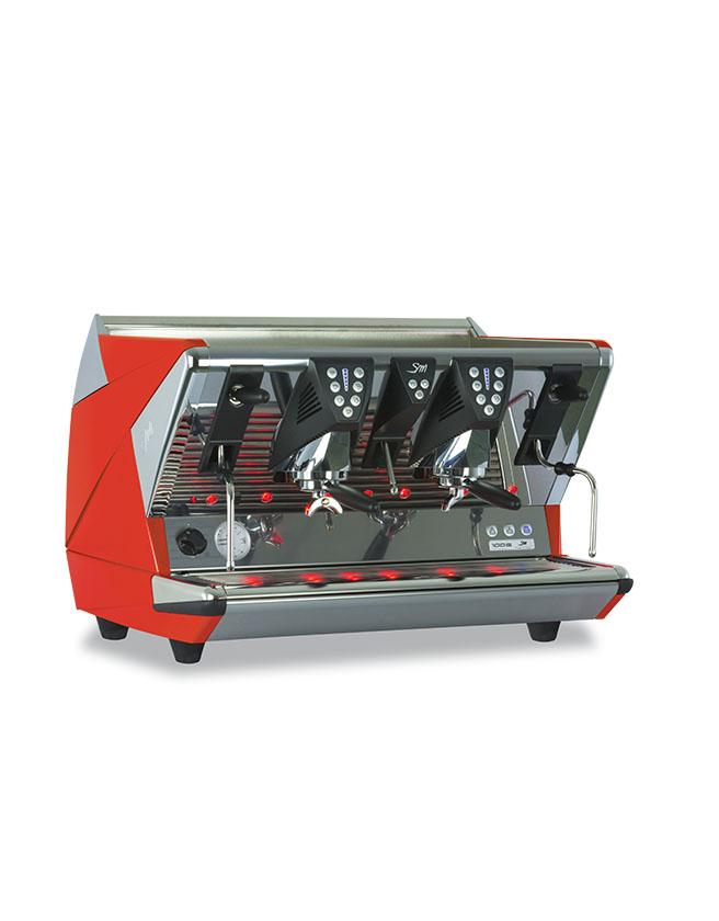 100E商用双头意式咖啡机