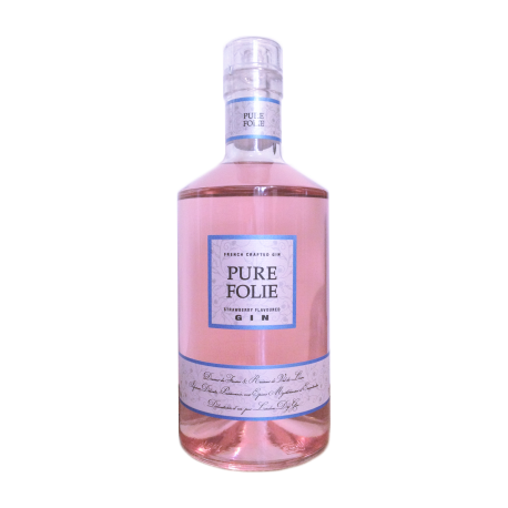 Pure Folie Strawberry Flavoured  Gin