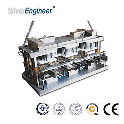 银工机械全自动铝箔容器生产线 食品包装机 模具定制