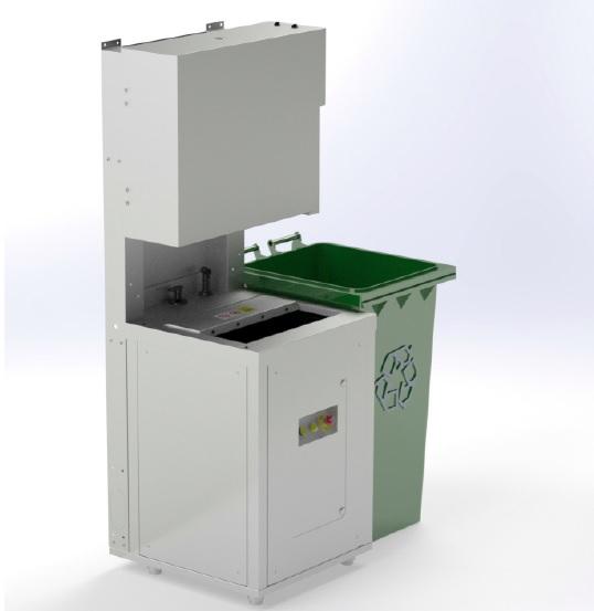 一体式餐厨垃圾处理器SC1