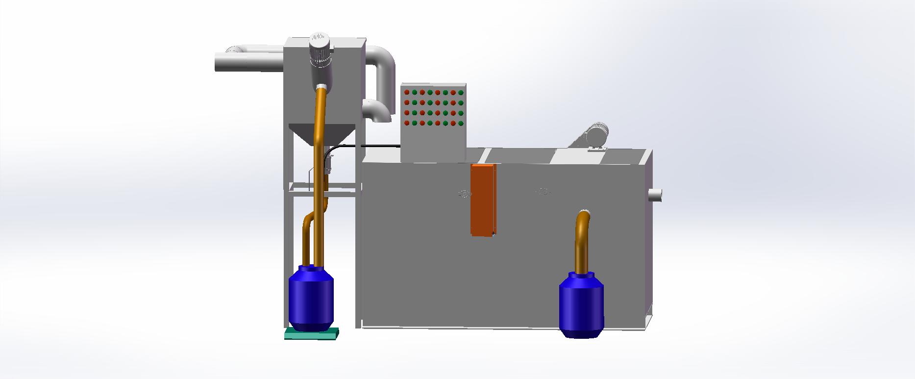 刮油式油水分离器