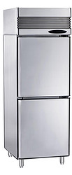 2 solid door upright freezer