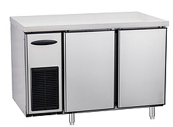 1.2 meter stainless counter chiller