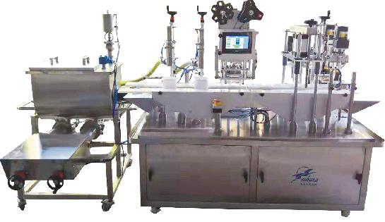 MGFYX102-2C型灌封压旋一体机