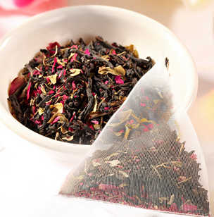 贡茶皇茶专用 玫瑰红茶 三角泡茶 5g*40 奶盖茶 水果茶 奶茶店专