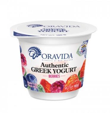 兰维乐混合莓果味希腊酸奶160g