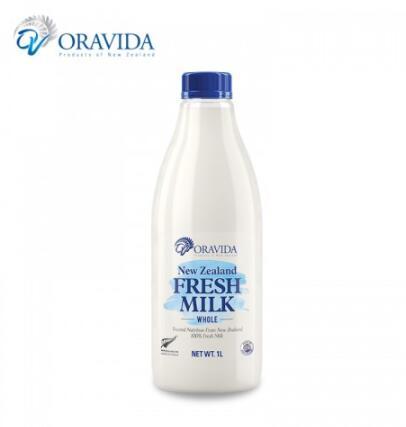 兰维乐巴氏鲜牛奶 1L*2桶