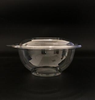 32oz-178mmPET透明色拉碗