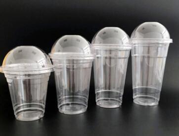 98口径610ml加厚PET透明杯