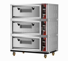 三层六盘电烤箱HTD-60F