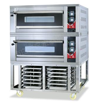二层四盘带底架燃气烤箱HTR-40FD