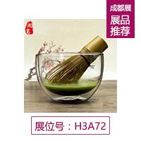 高硼硅双层玻璃抹茶碗