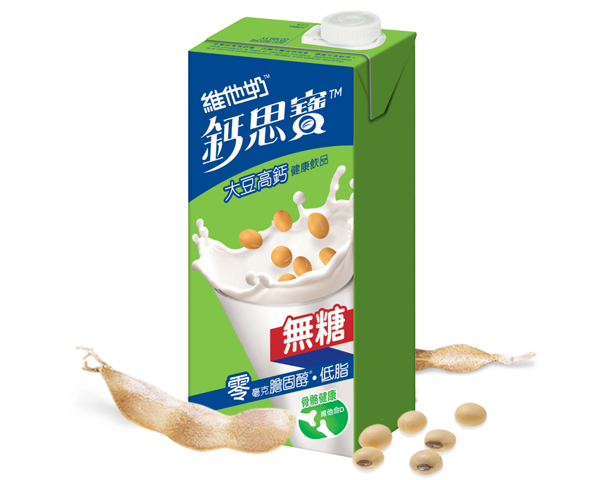 维他奶 钙思宝高钙无糖豆奶