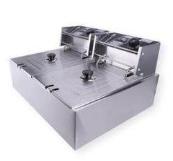 名爵双缸双筛电热炸炉