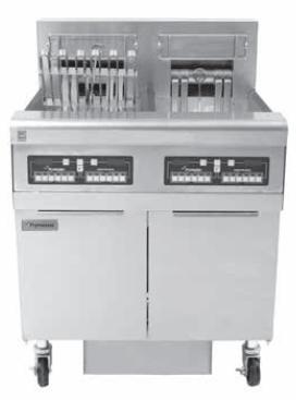 FRYMASTER(美国)  FPRE214、314内置滤油系统电炸炉
