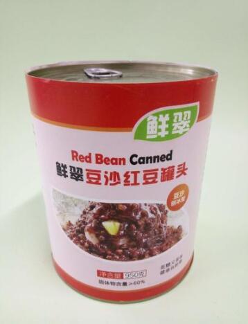 豆沙红豆罐头