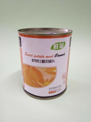 红薯泥罐头