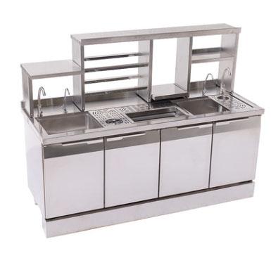 不锈钢冰柜水吧