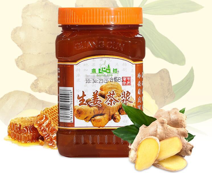 广村蜂蜜生姜茶酱 1kg