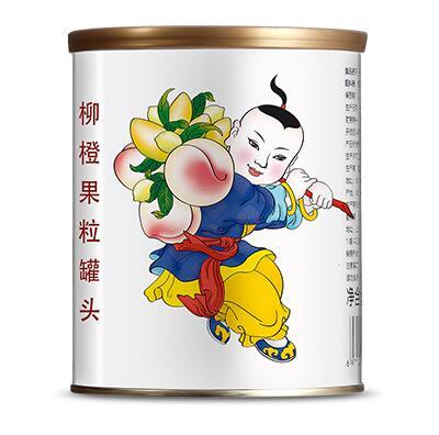 广禧柳橙果粒罐头 850g