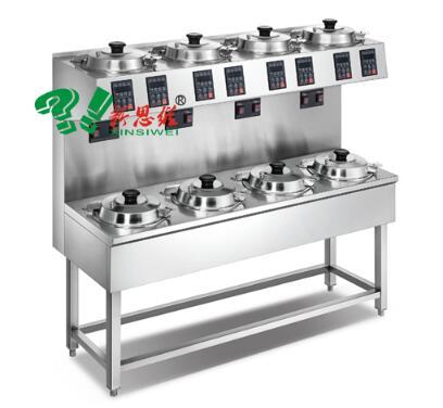 双层单排8头煲仔饭机XSW-SD-8