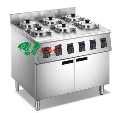 豪华版柜式6头煲仔饭机XSW-HC-6