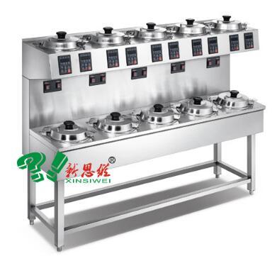 双层单排10头煲仔饭机XSW-SD-10