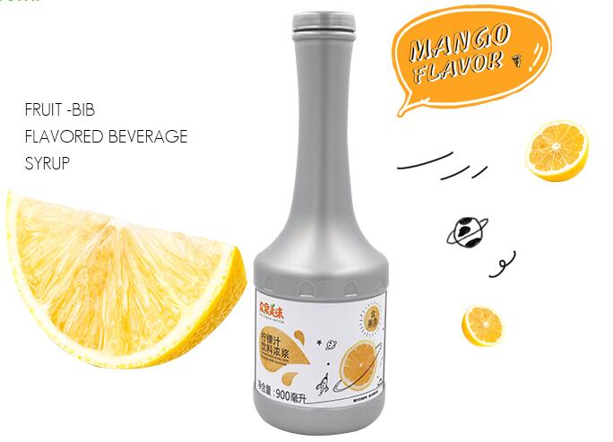 含肉果汁 柠檬味