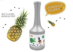 含肉果汁 菠萝