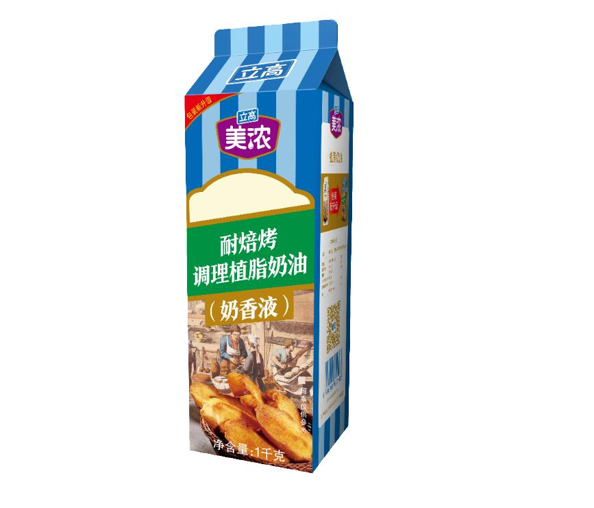 美浓耐焙烤调理植脂奶油