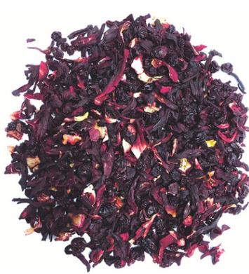 醋栗漿果奶油草莓冰雪檸檬漢方香草精選花果茶(水果茶/果粒茶)