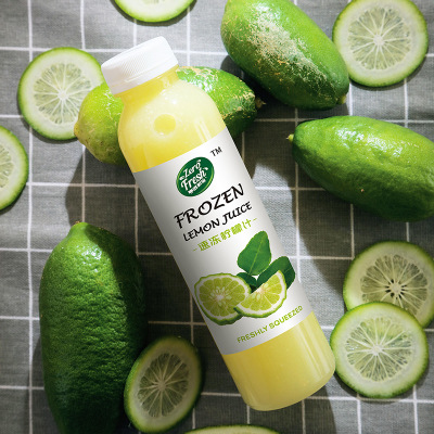 速冻柠檬汁鲜果食品原料压榨