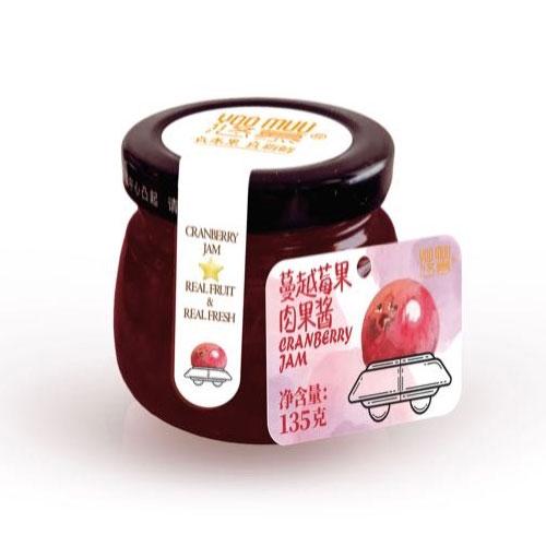蔓越莓果肉果酱