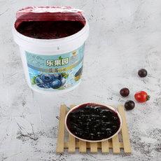 乐果园蓝莓果馅5kg/桶