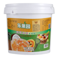大果粒混合果酱5kg/桶