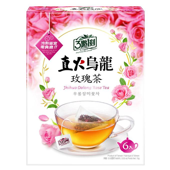3點1刻直火烏龍玫瑰茶