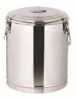 不锈钢双层保温桶