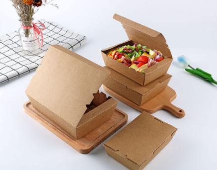 牛皮纸快餐盒
