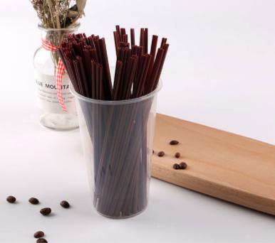 独立包装一次性咖啡搅拌棒吸管