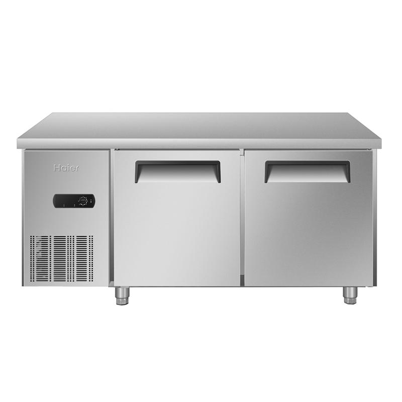 Haier/海尔 SP-330C2 厨房工作台 1.5米冷藏保鲜单温操作冰柜