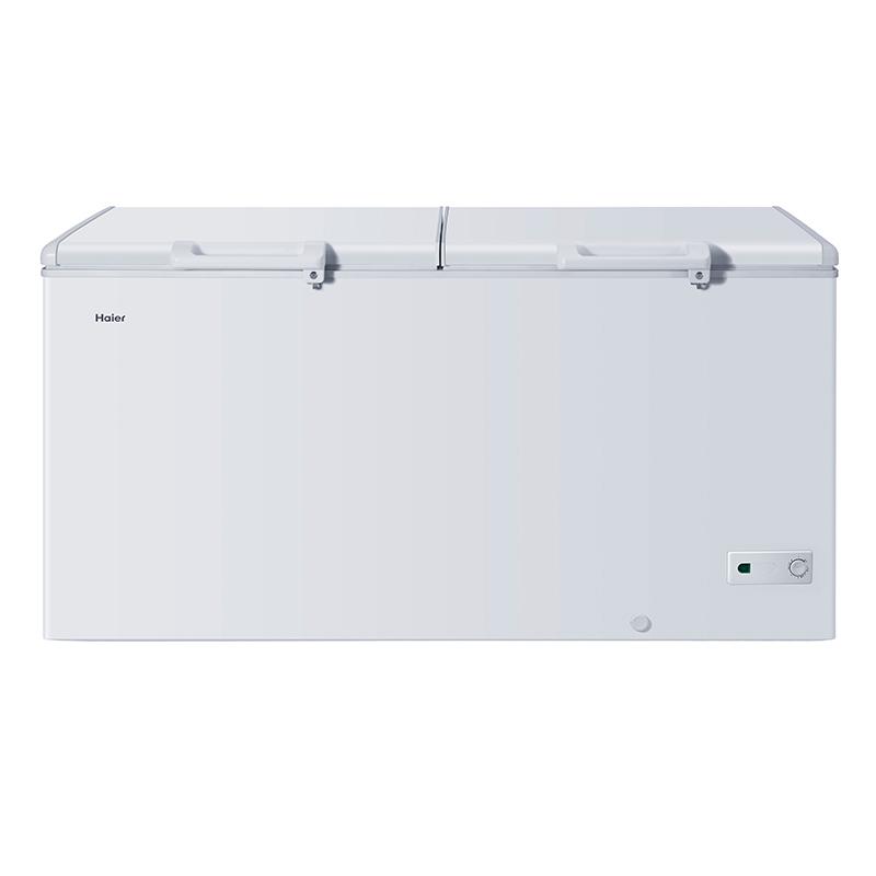 Haier/海尔 BC/BD-519HK 商用冰柜卧式冷藏冷冻顶开门商用大冷柜
