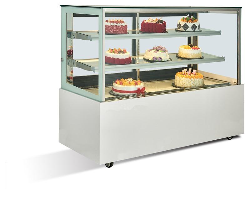 直角三層蛋糕展示柜
